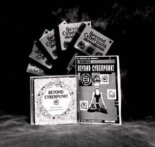 Фото диска Beyond Cyberpunk