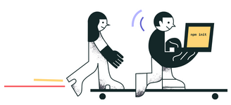 Парень и девушка на скейтборде с ноутбуком