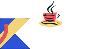 We can write on well-proven Java, but we prefer Kotlin.